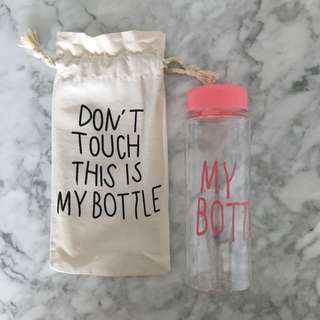 Don't Touch This Is My Bottle Water Bottle