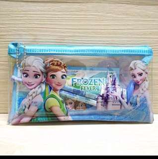 Frozen Children's Birthday Party Goodies Pencil case For Children's Day School Events Friendship Day Souvenir Birthday Gifts 3 For $13.50