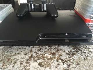 PlayStation 3 slim + all the games