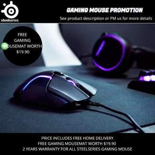 Steelseries Gaming Mouse Promotion