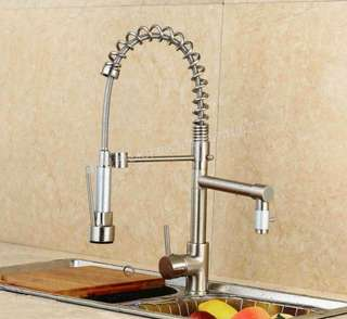 Kitchen spring faucet Basin faucet Hot and cold water mixing faucet