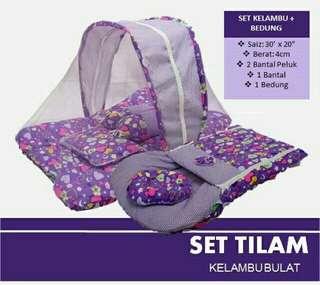 Set Tilam Kelambu Baby