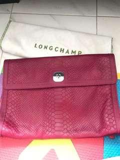 Longchamp clutch bag