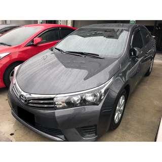 2014 豐田 ALTIS 灰 認證車