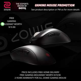 Zowie Gaming Mouse Promotion