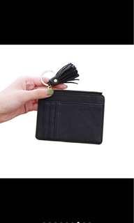 Korean Card Wallet (Black)