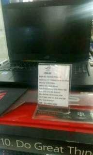 ROG GL 503VD-FY285T  harga bisa nego Credit Cepat Menit Tunggu