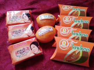 SALE!! WHITENING SOAPS