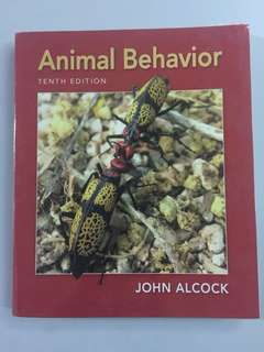 Text book : Animal behavior