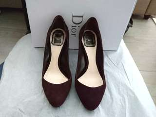 Christine Dior prune pump size 37