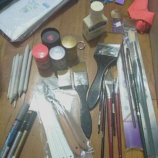 Miscellaneous Art Tools (UPDATED Items Left)