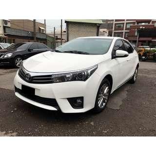 2014 豐田 ALTIS 白 認證車