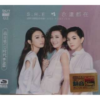 S.H.E. 15th Anniversary Are Forever 15周年纪念 永远都在 3CD (Imported)