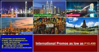Amazing International Package On SALE!!!