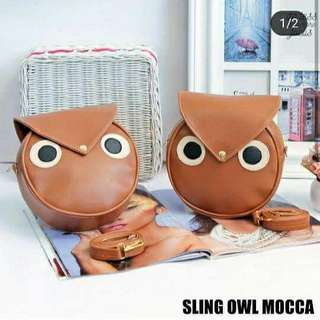 Sling bag owl