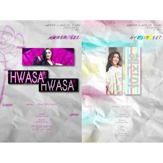 HWASA - HWASA + HYEJIN = YOU Cheering Kit