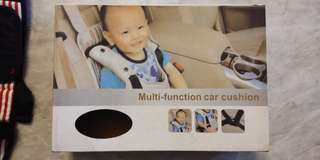 Multi-function car cushion