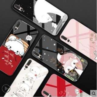 Huawei P20/P20 Pro/Mate 10/Mate 10 Pro Glass Silicone Case