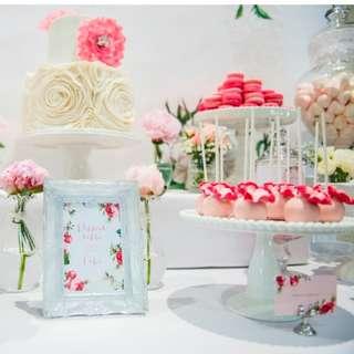 DESSERT TABLE DECORATION BIRTHDAY PARTY PLANNER ORGANISER DECORATOR CAKE FULLMOON BABY FAMILY WEDDING