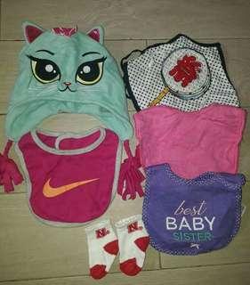 Set for baby girl