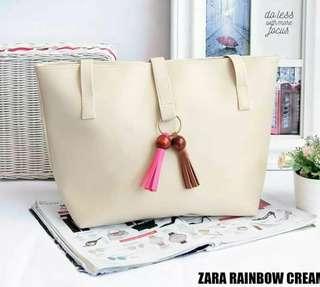 Zara rainbow cream
