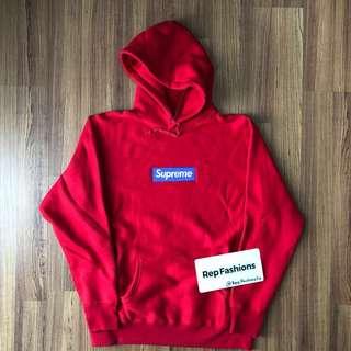 Supreme 17 FW Box Logo Hoodie