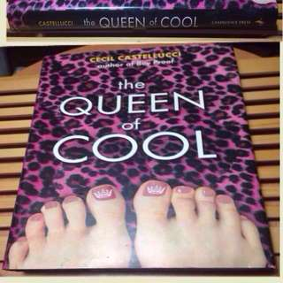 The QUEEN of COOL Cecil Castelluci Hardcover signed by the author!