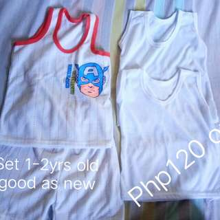 Set for 1-2yrs old