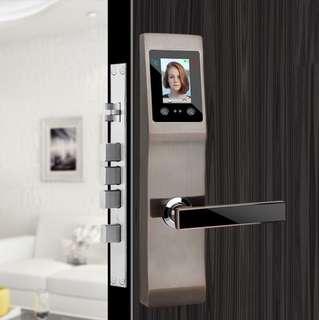 Fingerprint lock face recognition smart lock apartment security door home fingerprint code lock