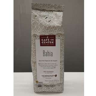 (專業咖啡師推介) 巴西歷史品牌 Café do Centro Coffee - 巴伊亞(Bahia) - 100%阿拉比卡烘焙精品咖啡豆250g, 焦糖濃香!