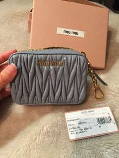 Authentic Miu Miu Pouch