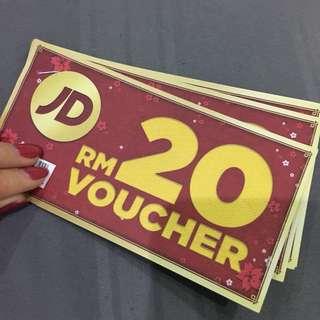 JD Sports RM100 voucher