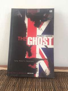 buku The Ghost - Robert Harris