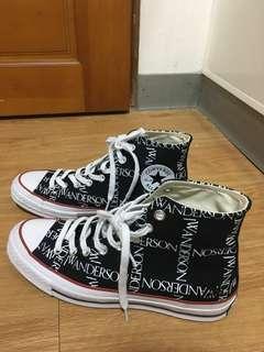Jw Anderson x converse 正品 美國opening ceremony 購入 uk7.5 26cm 附鞋盒防塵袋