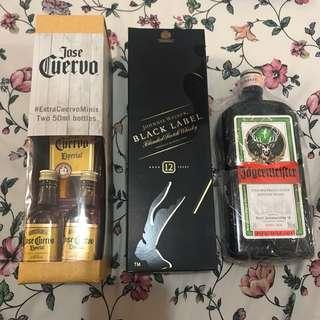 Liquor Bundle (Cuervo, Black, Jager)