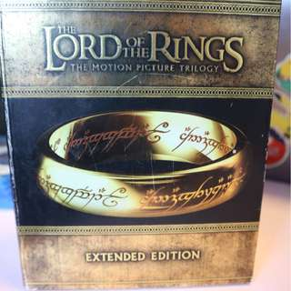 Lord of the Rings Trilogy Extended Version - ZONE 1