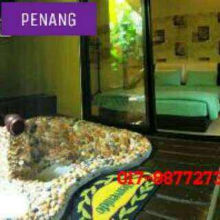 Penang Bali in-room hot tub (2 pax) & (4 pax)