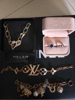Bundle Sale! Bracelet, Rings