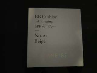 Laneige bb cushion anti aging 21 beige