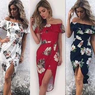 Bk Off Shoulder Dress