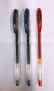 Uni Signo Gel Pen 0.7mm Set of 3