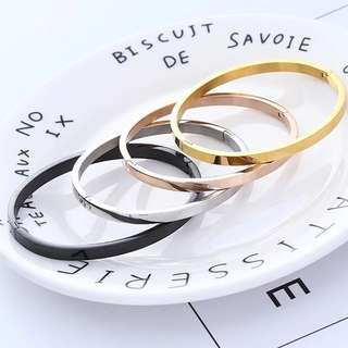 Bangle for men and women (can engrave)
