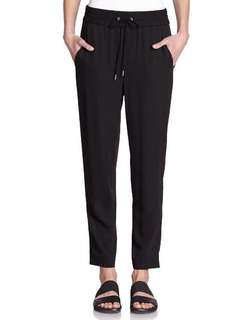H&M Black drawstring pants