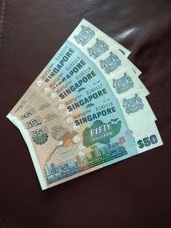 Singapore Bird Series $50 in 5 run