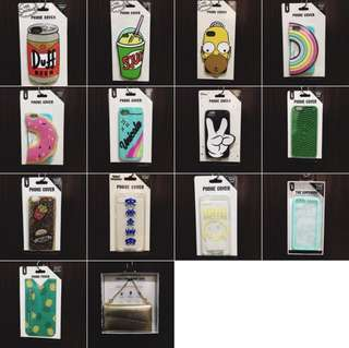 ONHAND BRAND NEW UNIQUE CASES FOR IPHONE 6 6S 7 8