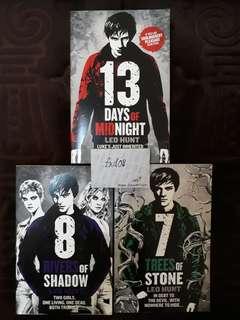 1 - 3 English Teenage Novel Novels Horror Thriller by Leo Hunt