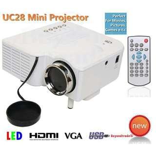 Projector - UNIC UC28+ Portable Mini Projector
