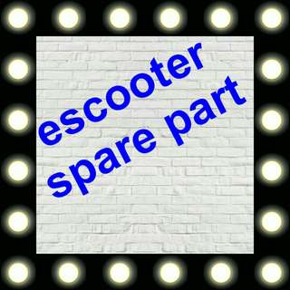 Escooter spare part