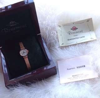 Authentic Rosemont Swiss Watch