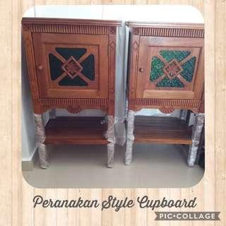 Peranakan Style Cupboard